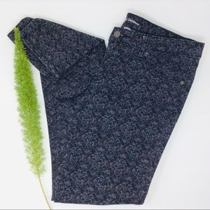 Mossimo Beautiful Printed Skinny Jeans Size (10)